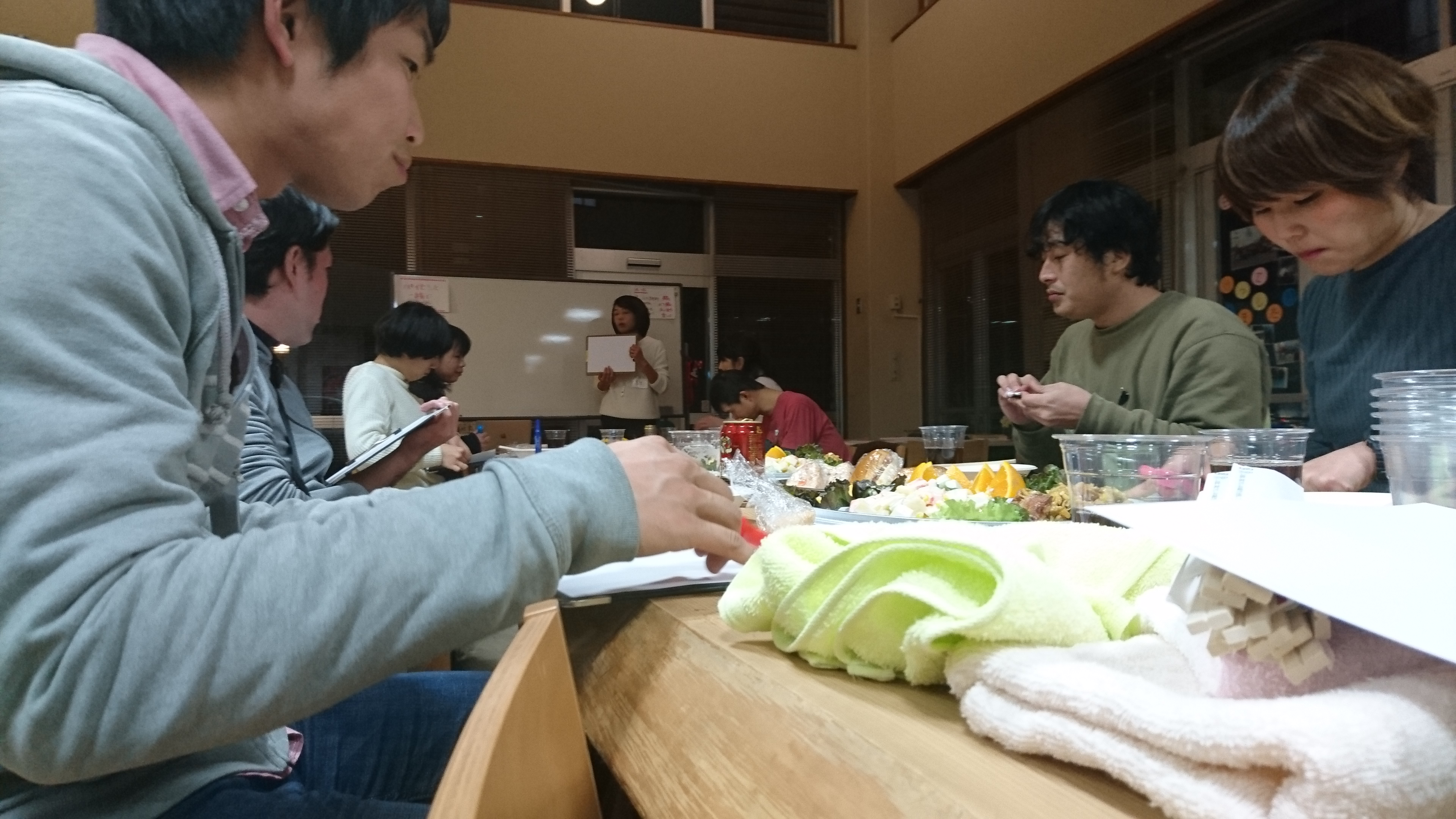 第1回パイセンと一緒に夕食会〜障害者支援者意見交換会〜